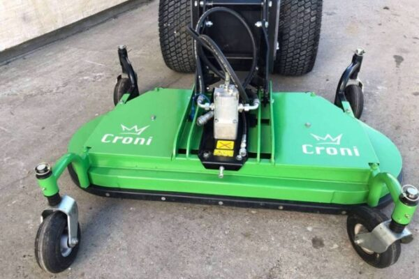 Lawn mower for mini loader